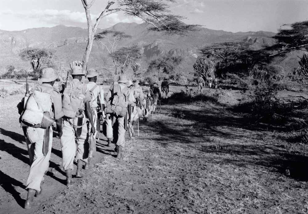 Kenya police training (circa 1950's)