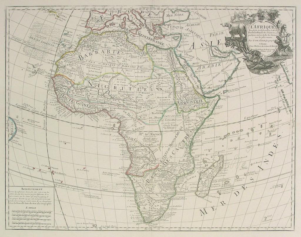 de_lisle_africa_lafrique_dresse_sur_les_observations_1838